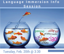Language Immersion Info Session