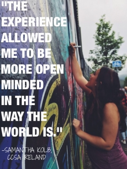 More Open-Minded Towards the World